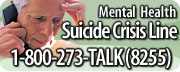 For the Suicide Prevention Lifeline, call 1-800-273-TALK or 1-800-273-8255.